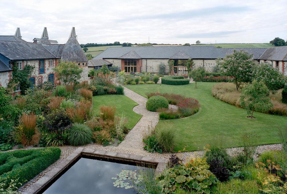 Bury court piet oudolf for Piet oudolf private garden
